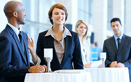 meeting or networking event
